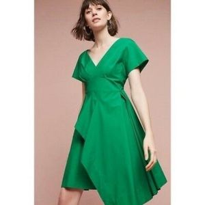 Maeve Emerald Green Flare Dress